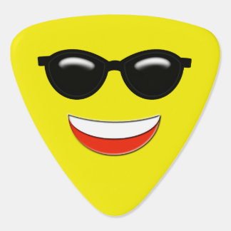 Coole Sonnenbrillen Emoji Plektron