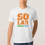 Coole Sonnenenergie T Shirt