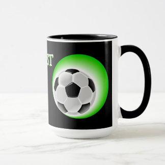 Coole Spaß-fantastische Weltbester Fußball-Vati Tasse