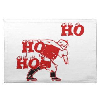 Coole spezielle Sankt Hohoho! Frohe Weihnachten Tischset