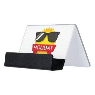 Coole sunglass Sonne Schreibtisch-Visitenkartenhalter