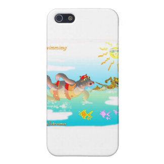 Coole swiiming Geschenke für Kinder iPhone 5 Schutzhülle