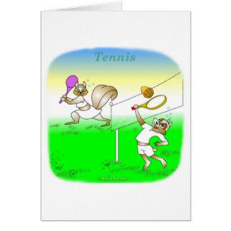 Coole Tennisgeschenke für Kinder Grußkarten
