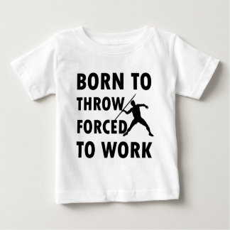 Coole Throw-Speer-Entwürfe Baby T-shirt