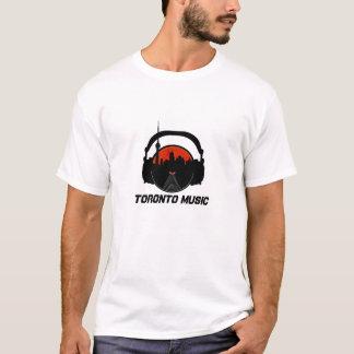 coole Toronto-Musik-Szene - Kopfhörer DJ-Aufnahme T-Shirt