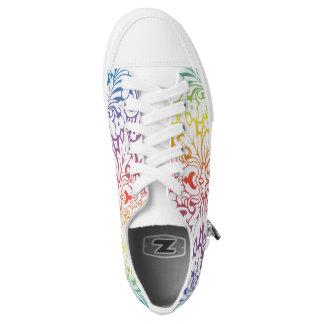 Coole und einzigartige Blumenschuhe Niedrig-geschnittene Sneaker