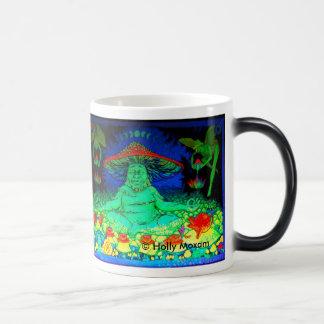 Coole verwandelnde Pilz-Tee-Tasse Verwandlungstasse