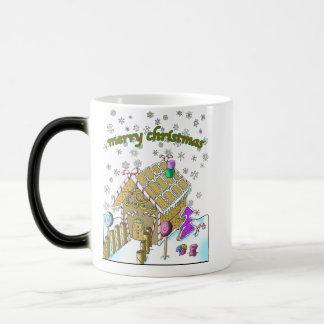 Coole verwandelnde Tasse! Frohe Weihnachten Verwandlungstasse