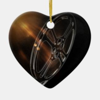 Coole Videofilm-Produktions-Film-Spule Keramik Ornament