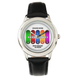 Coole wandernde Sport-Uhr (mehrfache Modelle) Armbanduhr