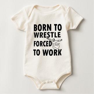 Coole Wrestling-Entwürfe Baby Strampler