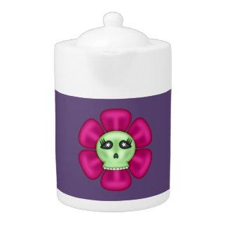 Coole Zombie-Schädel-Blume