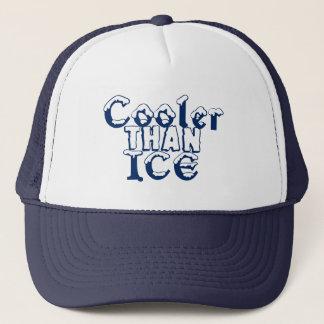 Cooler als EIS (Marineblau) Truckerkappe