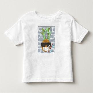 Cooler Ananas-Kleinkind-T - Shirt