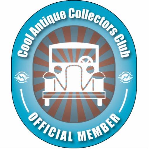 Cooler antiker Kollektor-Verein Fotoskulpturen