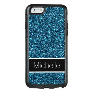 Cooler aquamariner Glitter stilvoller OtterBox OtterBox iPhone 6/6s Hülle