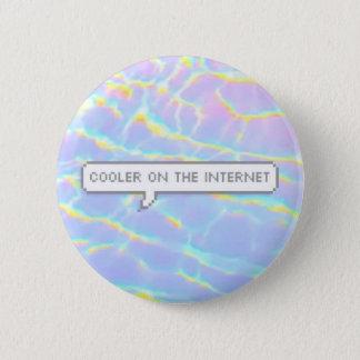Cooler auf dem Internet Runder Button 5,1 Cm