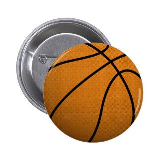 Cooler Ball des Basketball-und Gewohnheits-Sport-B Runder Button 5,1 Cm