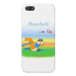 Cooler Baseball scherzt Einzelteile Etui Fürs iPhone 5