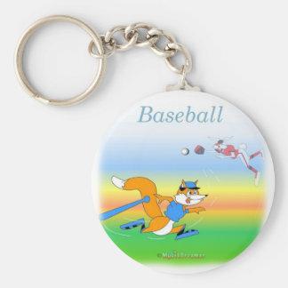 Cooler Baseball scherzt Einzelteile Schlüsselband