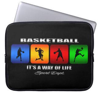 Cooler Basketball ist es eine Lebensart Laptopschutzhülle
