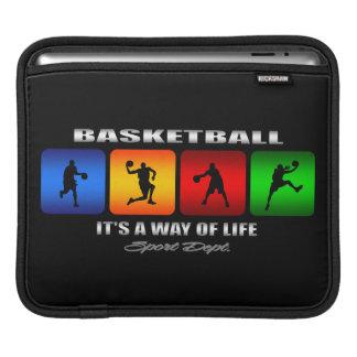 Cooler Basketball ist es eine Lebensart Sleeve Für iPads