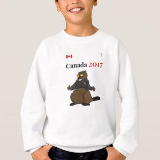 Cooler Biber Kanadas 150 im Jahre 2017 Sweatshirt