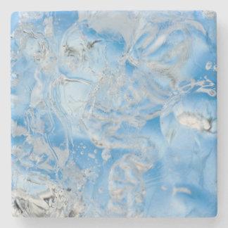 Cooler blauer Eisberg Steinuntersetzer
