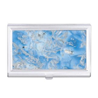 Cooler blauer Eisberg Visitenkarten Etui