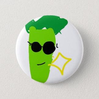 Cooler Brokkoli Runder Button 5,1 Cm