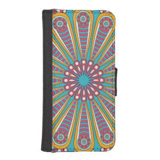 Cooler bunter Boho Mandala iPhone SE/5/5s Geldbeutel