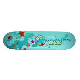 Cooler Cartoon T-Rex Skateboard Personalisiertes Skateboard