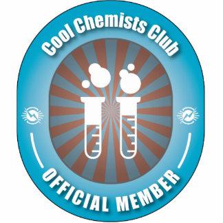 Cooler Chemiker-Verein Fotostatuen