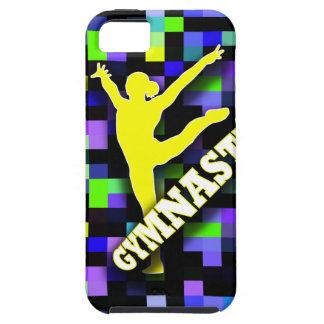 Cooler Effekt-Gymnastik-Telefon-Kasten Funky iPhone 5 Cover