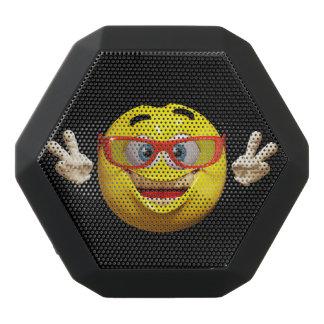 Cooler Emoticon 3d mit Schwarze Bluetooth Lautsprecher