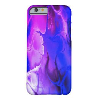 Cooler Fall der lila blauen elektrischen Barely There iPhone 6 Hülle