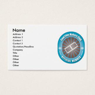 Cooler Filmemacher-Verein Visitenkarte