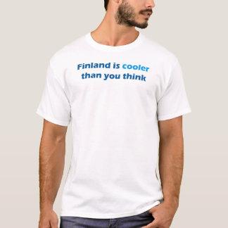 Cooler Finnland-Fronten-Entwurfs-Prämien-T - Shirt