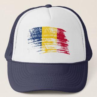 Cooler Flaggenentwurf von Tschad Truckerkappe
