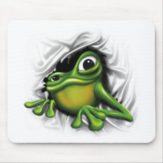 Cooler Frosch 3d Mousepads