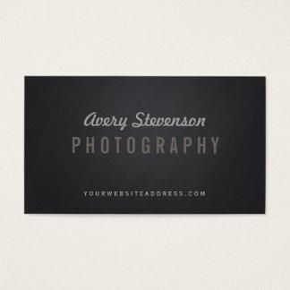 Cooler gealterter Vintage Typografie-angesagter Visitenkarte