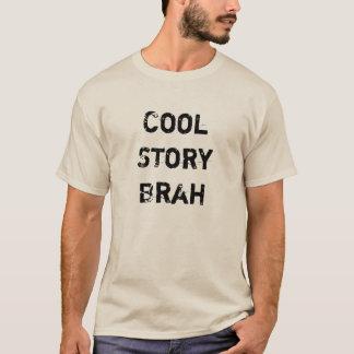 """""""Cooler Geschichte Brah"""" hellbrauner Sledders.com T-Shirt"""