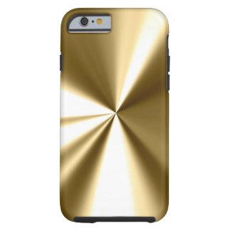 Cooler Goldmetallblick iPhone 6 Fall