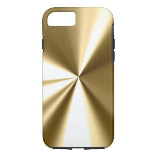 Cooler Goldmetallblick iPhone 7 Fall iPhone 7 Hülle
