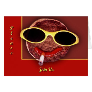 Cooler Hamburger Karte