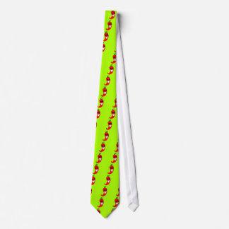 Cooler Herr Rot - heißer Pfeffer Krawatte