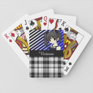 Cooler, hübscher u. Trendy Anime Spielkarten