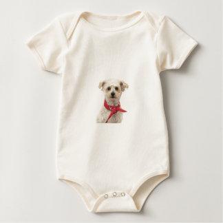 Cooler Hund Baby Strampler