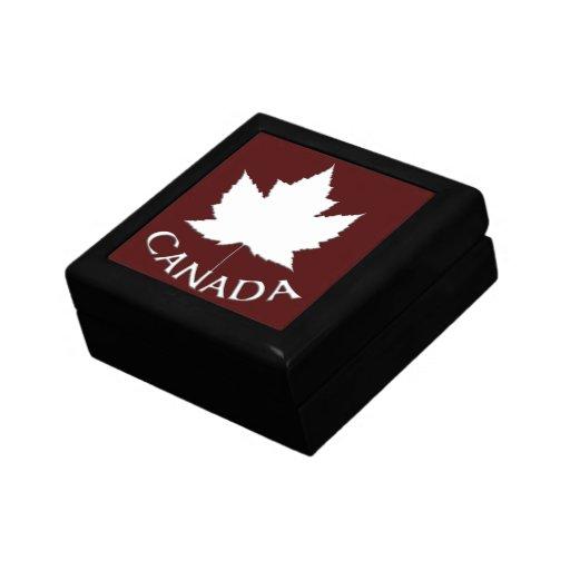 Cooler Kanada-Kasten-Kanada-Andenken-Schmuck-Kanad Erinnerungskisten
