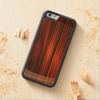 Cooler lackierter hölzerner iPhone 6 Bumper iPhone 6 Hülle Kirsche